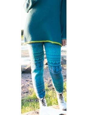 T-538 EZ WOOL LEGGINGS WITH...