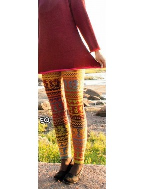 T-538 EQ WOOL LEGGINGS WITH...