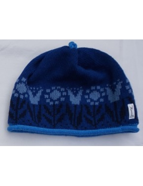 M-135 DD1 WOOL HAT WITH TULIPS