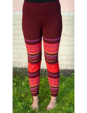 B-02 MM1 WOOL LEGGINGS WITH...