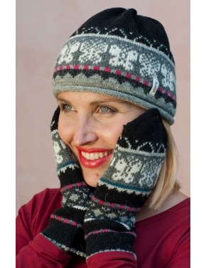 R-58 CC WOOL GLOVES WITH...