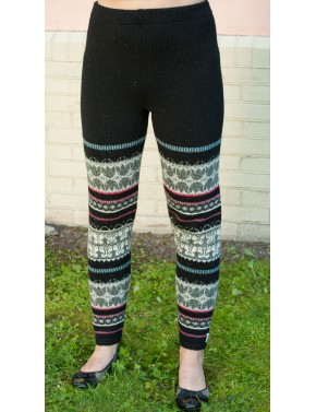 B-02 CC WOOL LEGGINGS WITH...