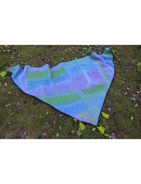 L-11 TT SHAWL WITH TREE OF...