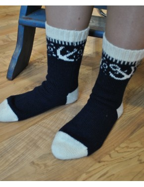 U-05 FF WOOL SOCKS WITH...