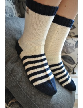 U-06 AA WOOL SOCKS MY SEA...