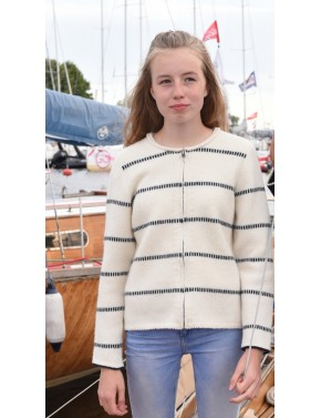 V-20 AA SHORT WOOL CARDIGAN...