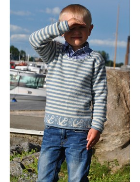 LV-23 SS KIDS WOOL PULLOVER...
